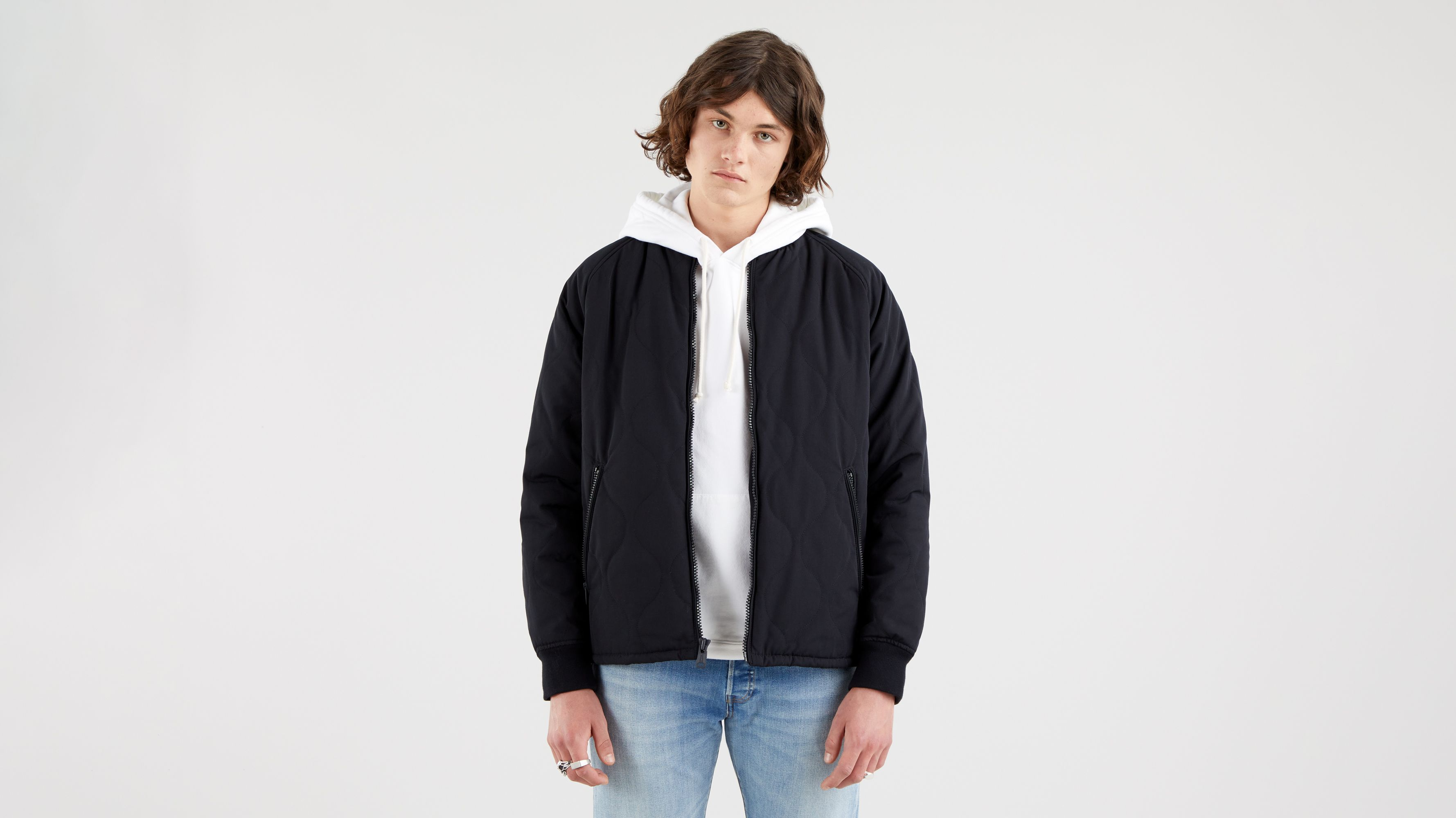 Levi`s Hyde Quilted Bomber Jacket