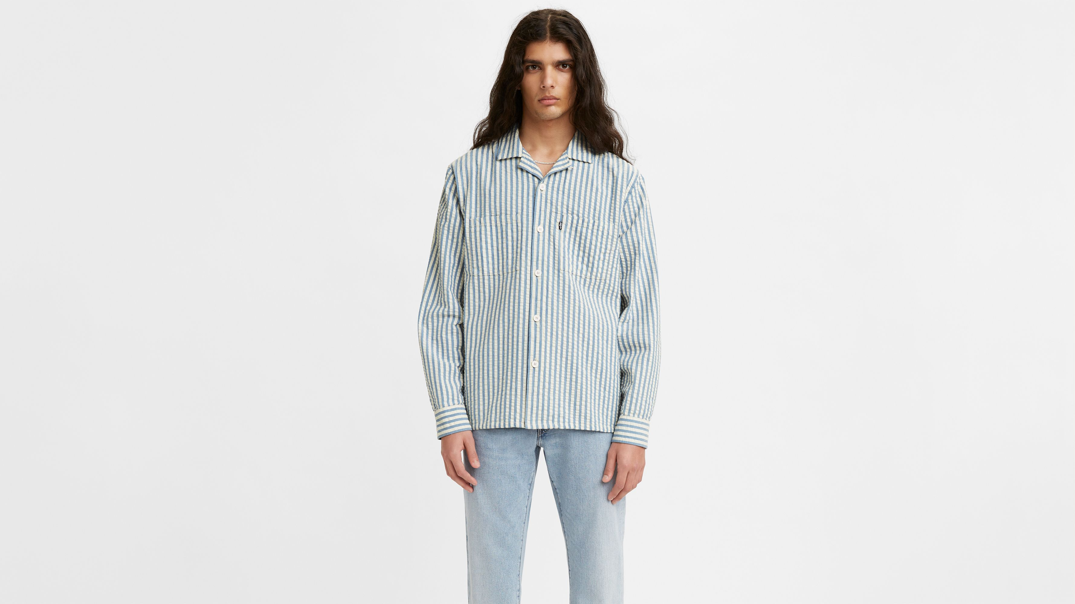 Levi`s Levi's® Made & Crafted® Camp Shirt