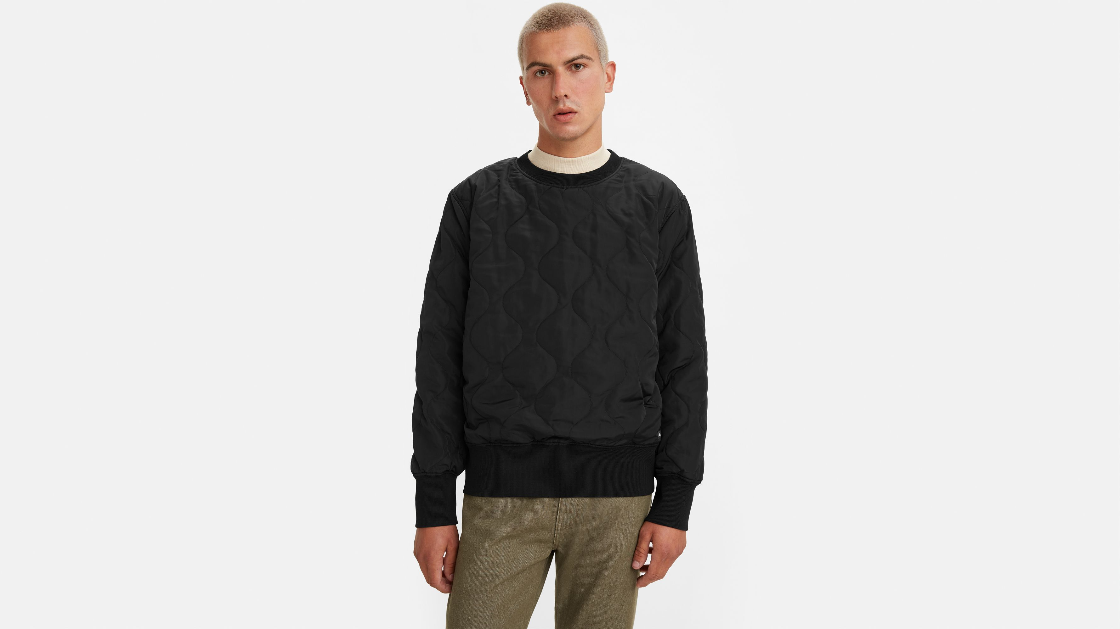 Levi`s Levi's® Made & Crafted® Quilt Crewneck