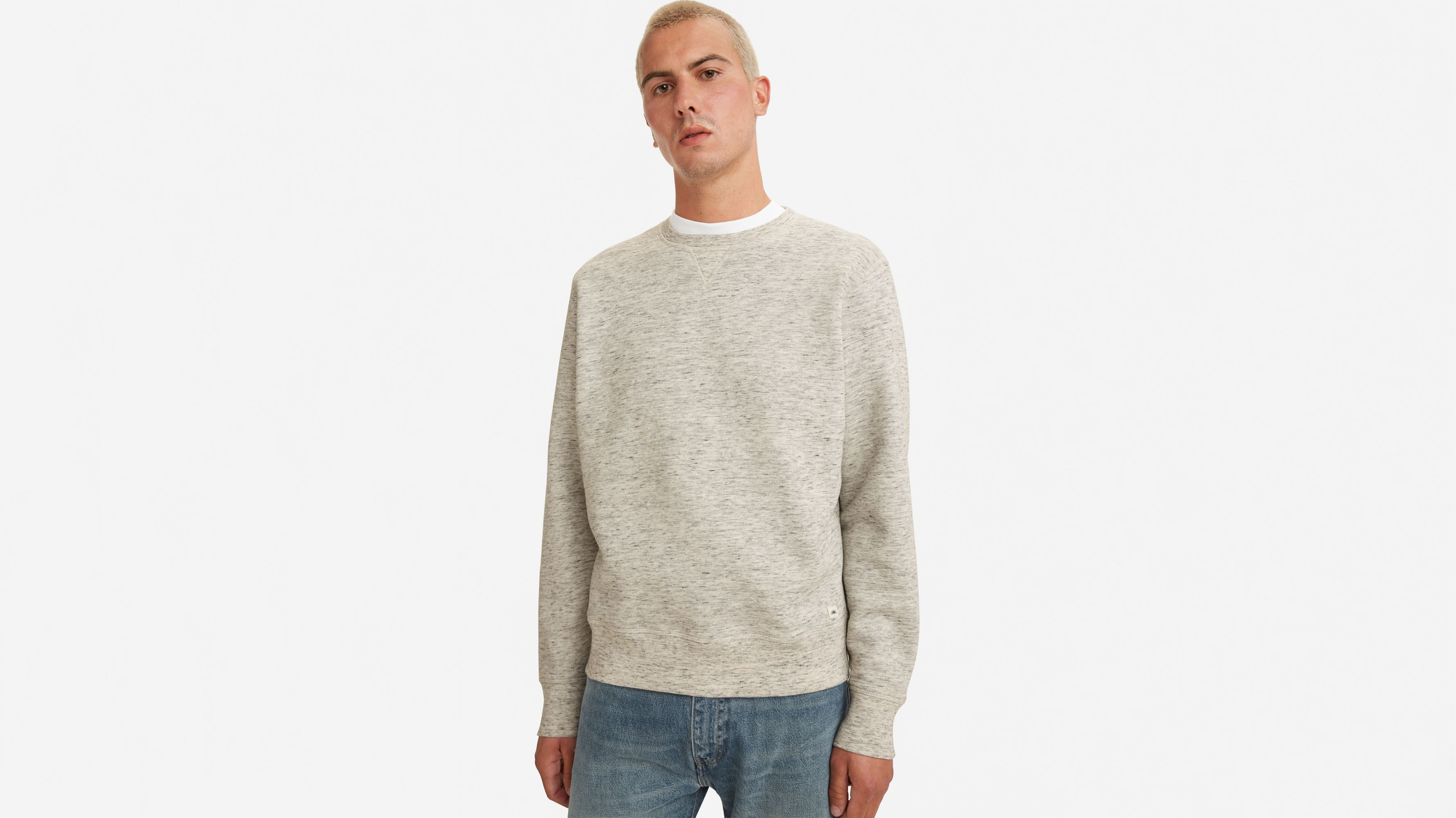 Levi`s Levi's® Made & Crafted® Relaxed Crewneck Sweatshirt