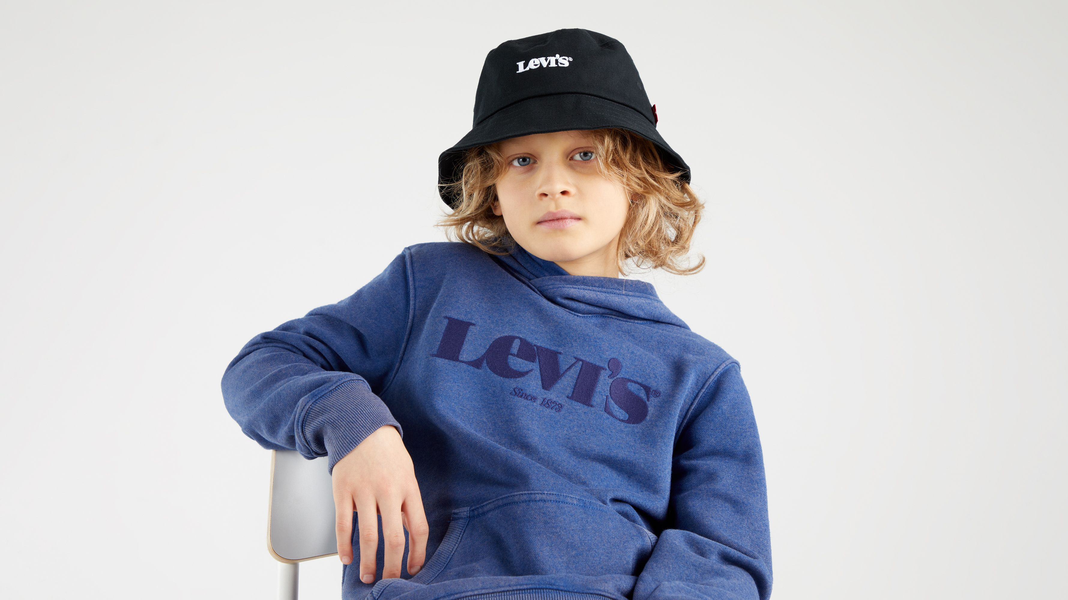 Levi`s Teenager Washed Down Logo Hoodie