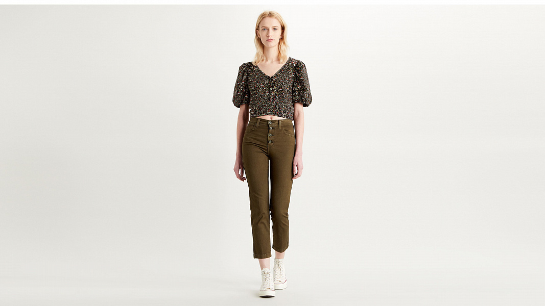 724™ High-Waisted Crop Jeans
