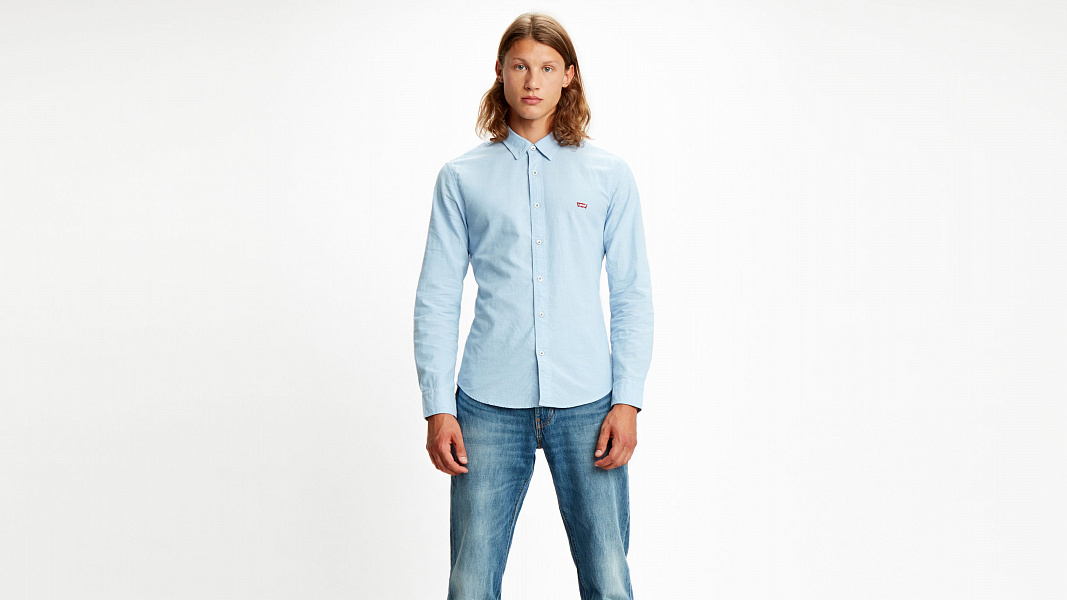 Battery Housemark Slim Fit Shirt