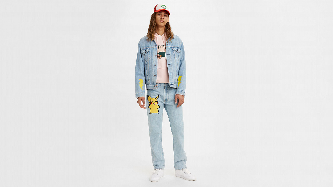 Levi's® X Pokémon 551Z™ Authentic Straight Jeans