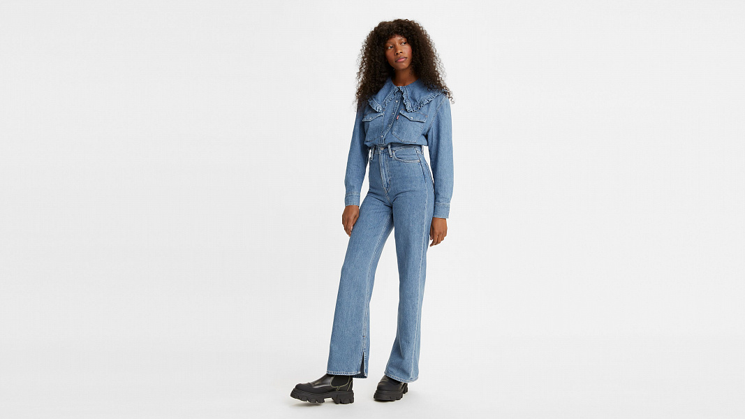 Levi's® X Ganni Slit High Loose Jeans