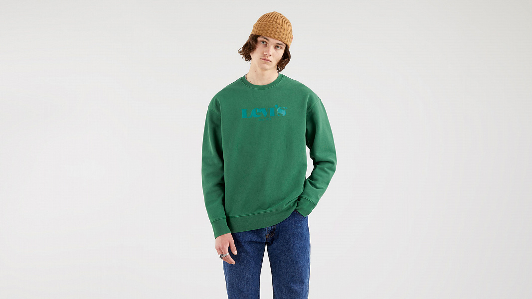 Relaxed Graphic Fleece