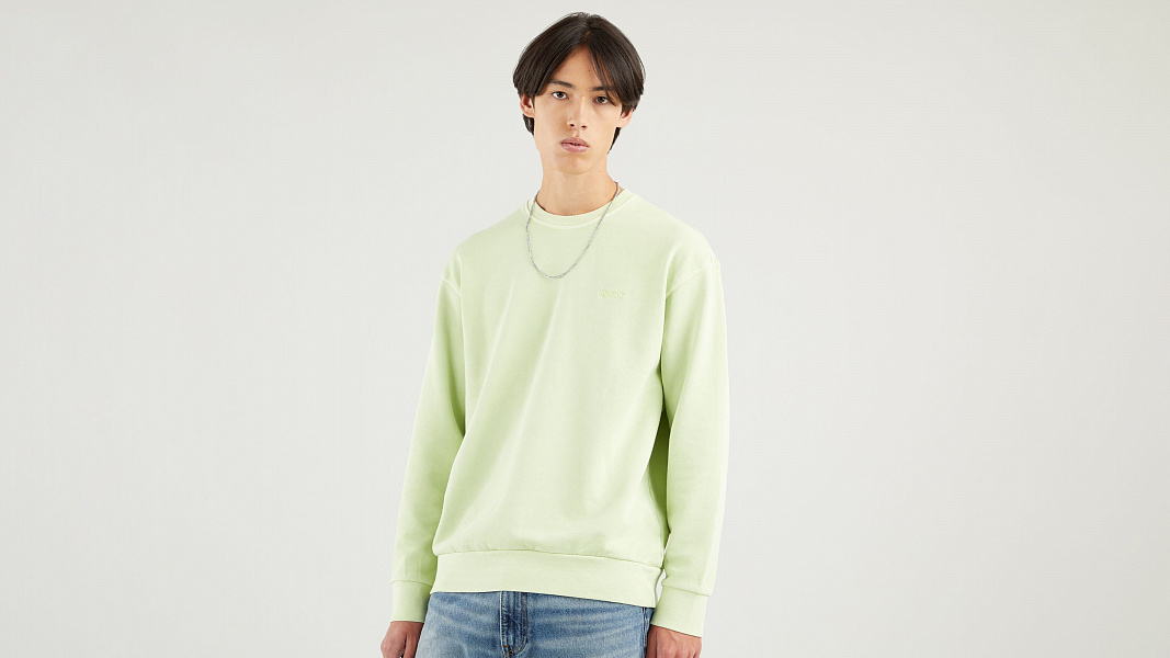 Relaxed Crew Neck Sweatshirt